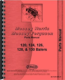 Massey Ferguson 120 124 126 128 130 Baler Parts Manual