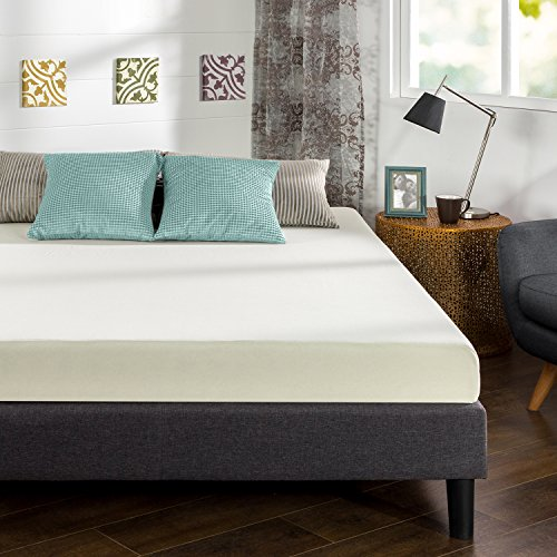 Zinus Ultima Comfort Mattress, Twin, Brown