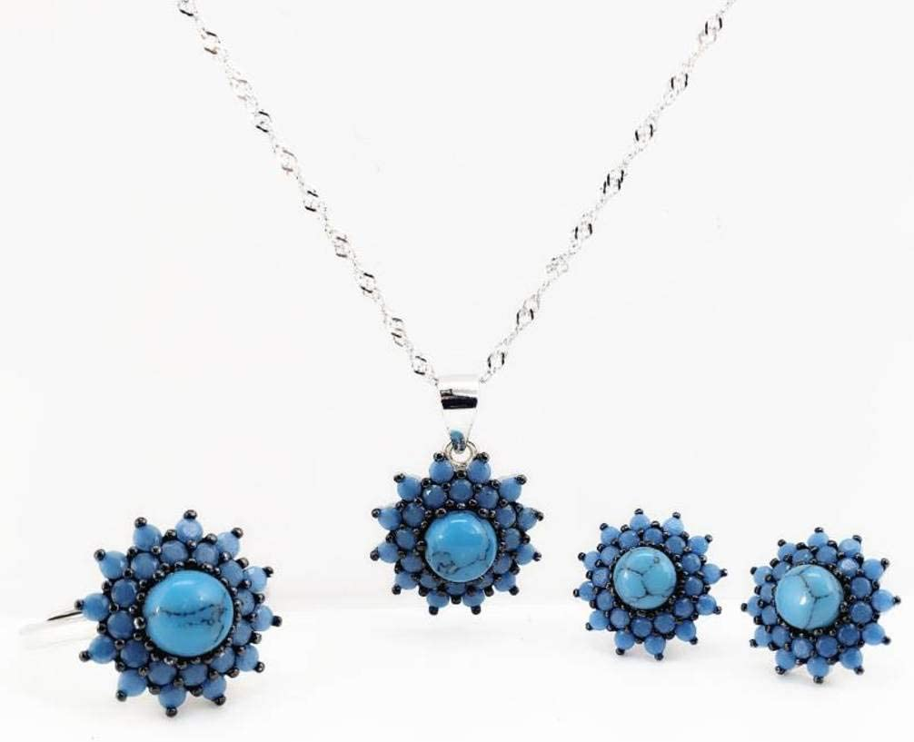 QiongXin Earring Dedication Pendant Necklace Jewelry Selling and selling Jewelle for Women Sets