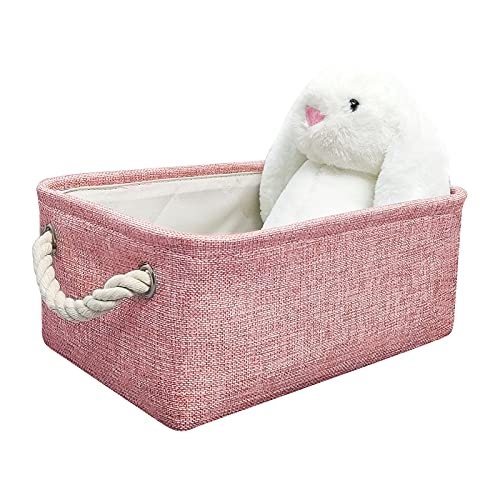 iceagle Storage Basket with Handles - Fabric Storage Baskets for...