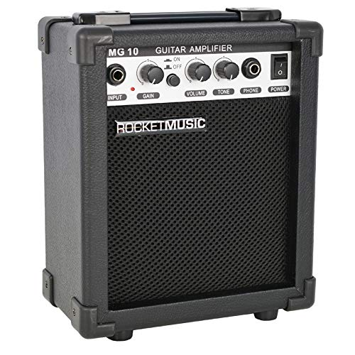 3rd Avenue Rocket Series 10W Guitar Amplifier with Headphone Output and...