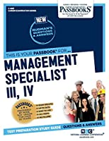 Management Specialist III, IV (Career Examination)