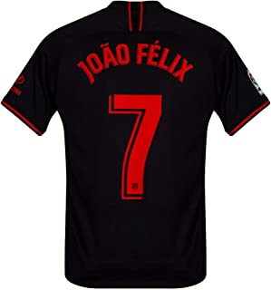 Nike Atletico Madrid Away João Félix 7 Jersey 2019-2020 (Official Printing)