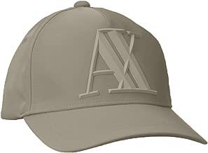 A|X Armani Exchange Men's 3D Rubber Ax Tonal Logo Hat