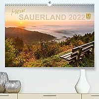 Mein Sauerland (Premium, hochwertiger DIN A2 Wandkalender 2022, Kunstdruck in Hochglanz): Sauerland - Land der 1000 Berge (Monatskalender, 14 Seiten )