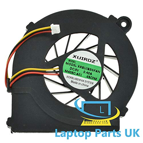 CPU Cooling Fan compatible with Hp g56 g56-100 Laptop Spare Replacement Part