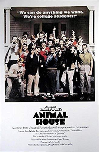 Buyartforless Animal House (Middle Fingers) 36x24 Movie Art Print Poster John Belushi Tim Matheson