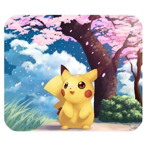 Tapis de souris Pikachu 2 cerisiers en fleurs Pokémon de qualité