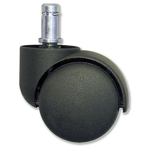 1 set wieltjes voor harde vloeren voor TAOline rolkruk, voor gebruik van de kruk op parket, laminaat en tegels.