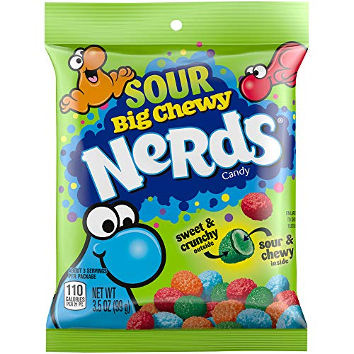 Nerds Big Chewy Sour Candy, 3.5 Ounces (Pack of 12)