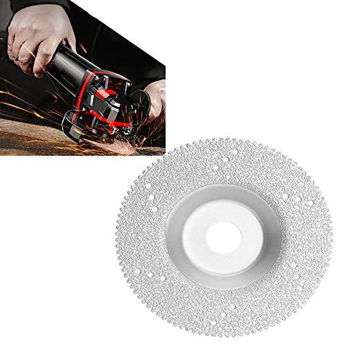 Disco de corte de diamante 100 mm, Professional Disco de diamante, para hormigón, piedra, ladrillo, universal, para cortar en seco y húmedo, accesorio para amoladora,Plata,2pcs