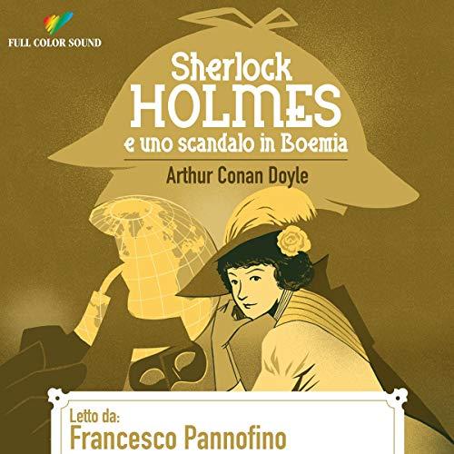 『Sherlock Holmes e uno scandalo in Boemia』のカバーアート