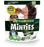VetIQ Minties Dog Dental Bone Treats,...