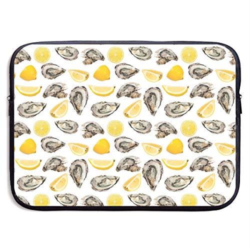 VEGAS Lemon Oyster Laptop Sleeve Case Bag Handbag for MacBook - Lightweight Carring Protector for 15 Inch Samsung Sony ASUS Acer Lenovo Dell HP Toshiba Chromebook Computers