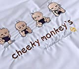 Isabella Alicia Cheeky Monkeys - Manta para moisés (0,2 kg)