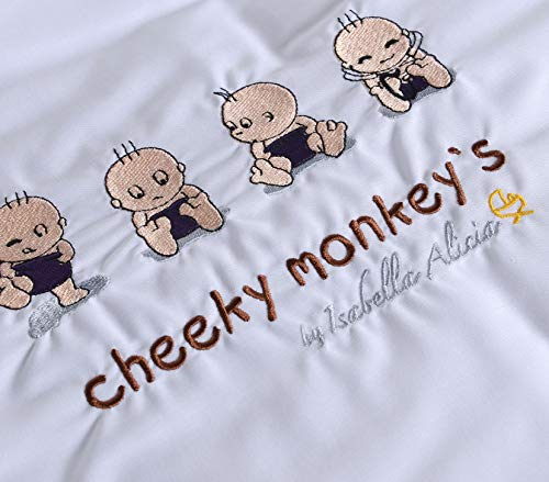 Isabella Alicia Cheeky Monkeys Couverture pour couffin 0,2 kg