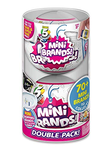 5 SURPRISE Mini Brands Mystery Capsule Real Miniature Brands...
