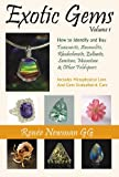 Exotic Gems: How to Identify and Buy Tanzanite, Ammolite, Rhodochrosite, Zultanite, Sunstone, Moonstone & Other Feldspars (Newman Exotic Gem Series)