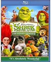 Shrek Forever After The Final Chapter Bluray- NEVER PLAYED- no digital copy disc/case/cover (no slip cover)