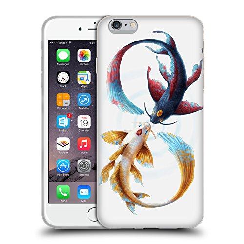 Head Case Designs Licenza Ufficiale Jonas JoJoesArt Jödicke Koi Legame Eterno Animali Selvatici Cover in Morbido Gel Compatibile con Apple iPhone 6 Plus/iPhone 6s Plus