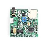 liuchenmaoyi Tarjeta del Amplificador Dispositivo de MP3 Reproducción de Voz Módulo de MP3 Mensajes de Voz de Voz de difusión Junta de Desarrollo del Reproductor de música Tarjeta Bluetooth