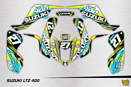 Kit Adhesivos Full Cover Suzuki LTZ 400 ADESIVI Sticker KLEBER AUFKLEBER CALCAMONIA