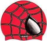 Gorro de silicona Spider | Gorro de Natación| Alta comodidad y adherencia | Diseño y estilo italiano