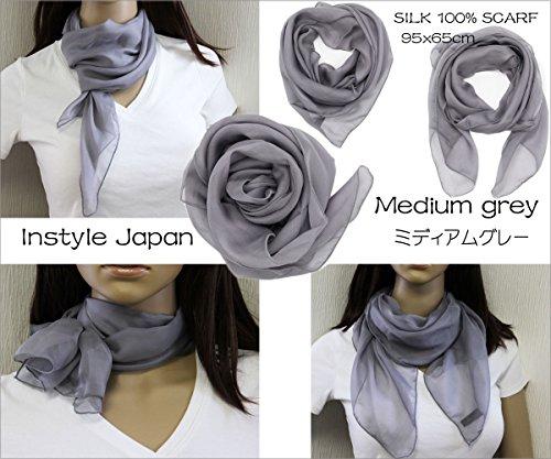 InstyleJapan(インスタイルジャパン)『シルクスカーフ』