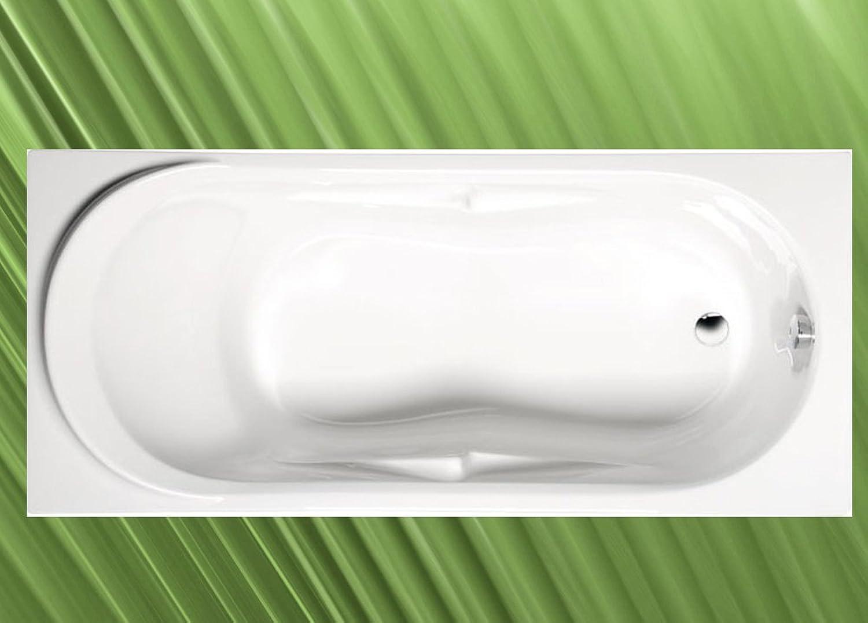 Badewanne ADRIANA 180x74x45cm mit Wannenfüen