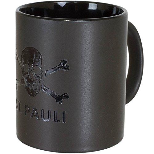 FC St. Pauli Totenkopf Zauberstasse Magic Mug (schwarz)