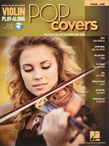 Violin Play-Along Volume 66: Pop Covers (Book/Online Audio) (Hal Leonard Instrume)