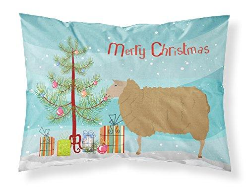 Caroline's Treasures East Friesian Sheep Christmas Funda de Almohada, Multicolor, Estándar
