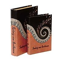 ブック型収納ボックス BOOK BOX 2個セット 28229 【人気 おすすめ 通販パーク】