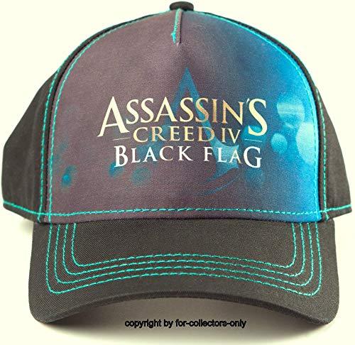 Assassin's Creed IV Cap Black Flag Assassins Creed 4 Mütze Baseball Cap Schirmmütze Kappe