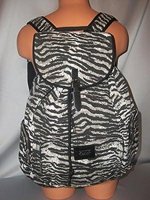 Victoria's Secret PINK Zebra Large Backpack Travel Book Bag *RARE*