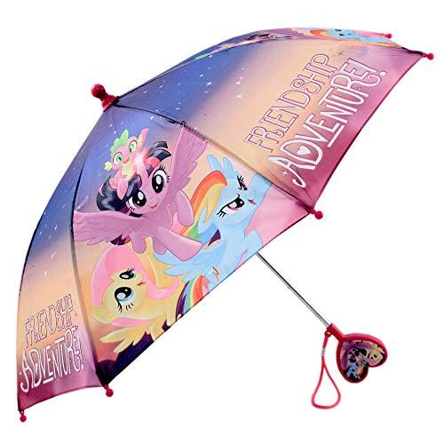 Hasbro Girls Little Pony Character Rainwear Umbrella, Purple, Age 3-6