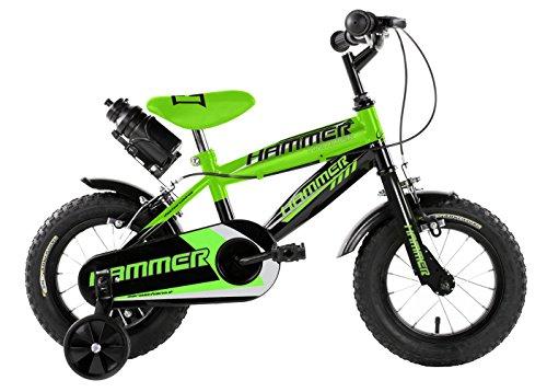 Mario Schiano 245 12' Hammer New 01V Bike, verde/nero, multicolore