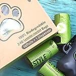 Greener Lifestyle 240 Lavender Scented Dog Poop Bags + 1 Dispenser 9