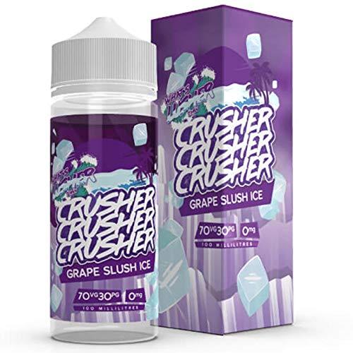 Grape Slush Ice (100ml) Plus e Liquid by Crusher Nikotinfrei