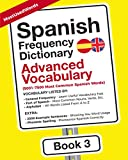 Spanish Frequency Dictionary - Advanced Vocabulary: 5001-7500 Most Common Spanish Words (Spanish-English)