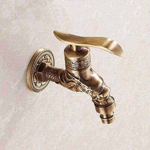 BEISUOSIBYW Co.,Ltd Faucet Faucet Garden Finish Faucet Latón Antiguo Total Brass Garden Washer Faucet Grifo de jardín al Aire Libre