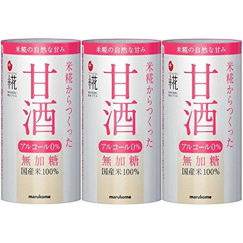 マルコメ プラス糀 米糀からつくった甘酒 パック125ml