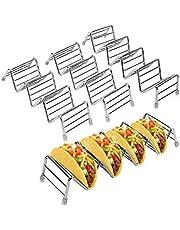 Haofy Soporte para Tacos de Acero Inoxidable Taco Holder Wave para Tacos, sándwiches, Pan, Tortitas de Perros Calientes