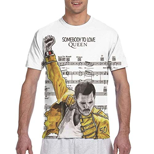 Queen Somebody To Love T-shirt for Men, S to 3XL