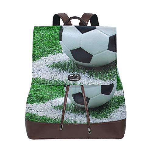 Rucksack Rucksack Perfekt für die Schule Grünland Sport Fußball für Männer Jungen Mädchen Frau Reisen Kindertagesstätte
