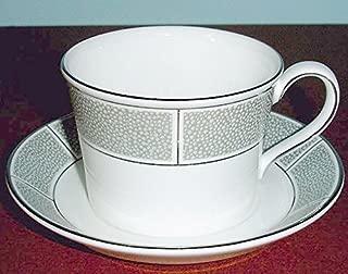 Wedgwood Shagreen Jade Tea Cup & Saucer Made in U.K New