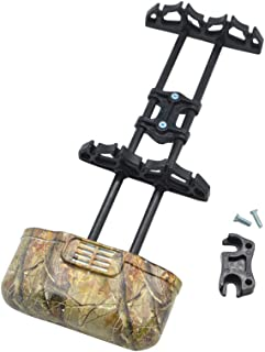 NMCPY Archery 5 Spot Arrow Quiver Arrow Holder Release Lock Quivers for Outdoor Hunting