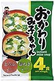MIYASAKA JOZO USA INC Miso Soup 4Servings Tofu & Geen Onion, 2.97 Ounce (Pack of 12)