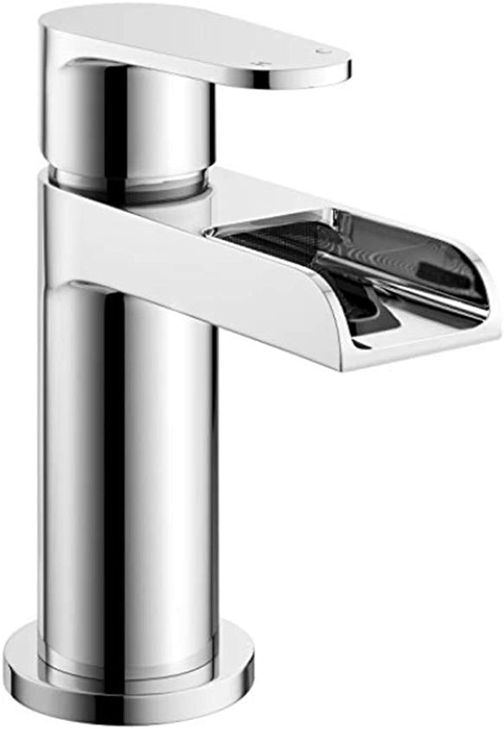 Pull Out The Pull Down Stainless Steelwaterfall Basin Sink Mixer Tap Chrome Bathroom Lever Faucet
