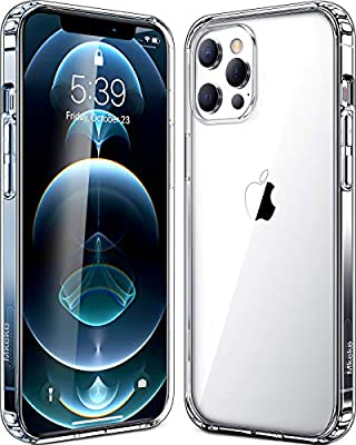Mkeke Compatible with iPhone 12 Pro Max Case, 2020 iPhone Pro Max Cases Clear 6.7 inch